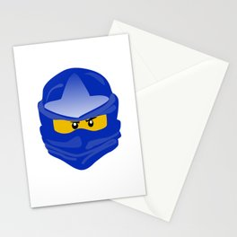 Ninjago face Jay  Stationery Cards