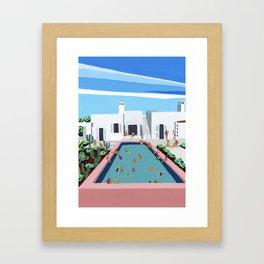 Villa Cardo Framed Art Print