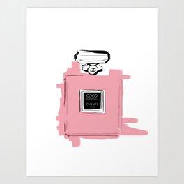 Pink perfume #6 Art Print