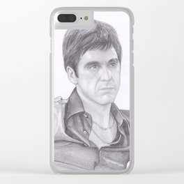 Al Pacino - Scarface Clear iPhone Case