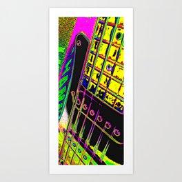 Guitar II Art Print