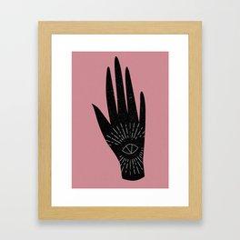 Divine Right Framed Art Print