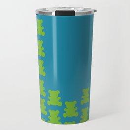 Green Teddy Travel Mug
