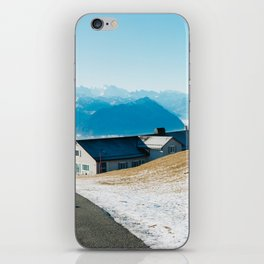 Mount Rigi Alpine View iPhone Skin