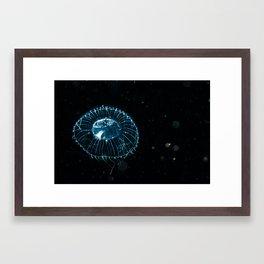 The chandelier Framed Art Print
