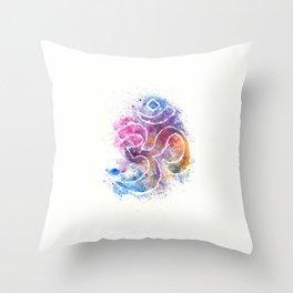 OM Symbol Watercolor Art Throw Pillow