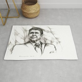 Ronald Reagan Rug