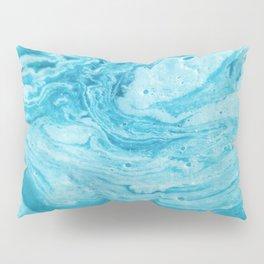 BLUE SWIRL Pillow Sham