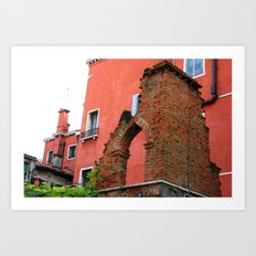 Venice Architecture Art Print