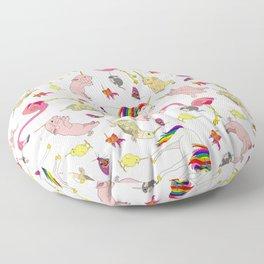 Unicorn Animals Floor Pillow
