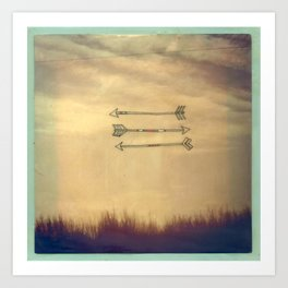 Wispy Way Art Print