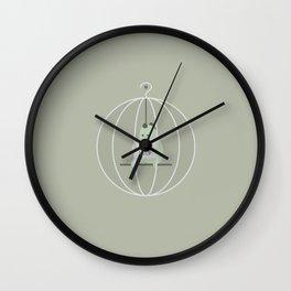 PLZ HELP Wall Clock
