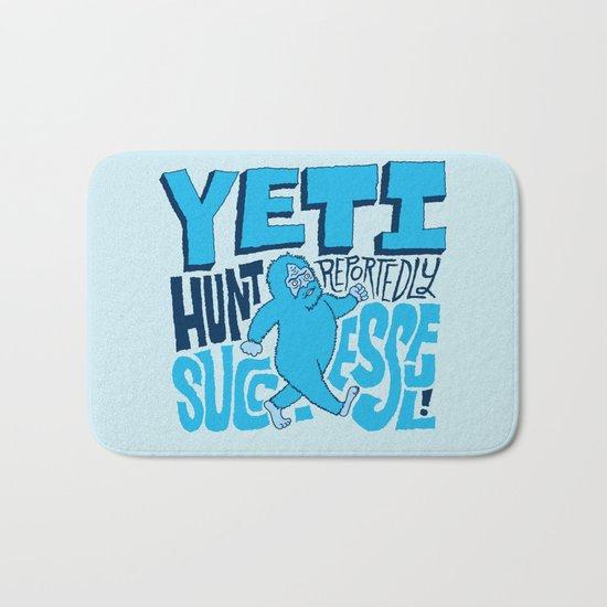 Successful Yeti Hunt Bath Mat