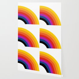 Retro Rainbow - Right Wallpaper
