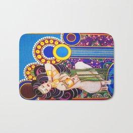 African Klimt Bath Mat