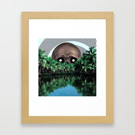 The cannibal Framed Art Print