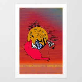 Moon Chaka Art Print