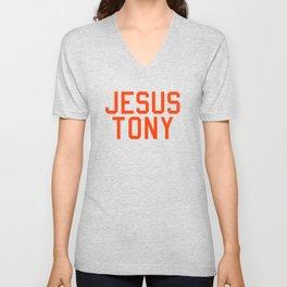 Jesus Tony Unisex V-Neck