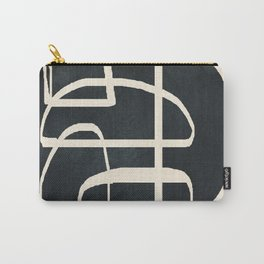 Abstract Line Movement 01 Carry-All Pouch