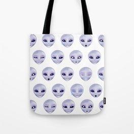Alien Emotions Tote Bag