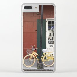 New Orleans Bicycle - Orleans Street Clear iPhone Case