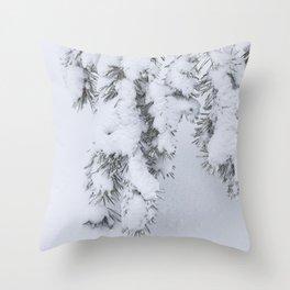 Winter's Pine 1 Throw Pillow