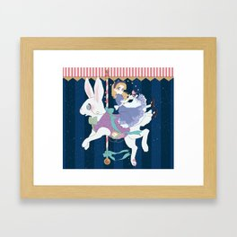Carousel: World of My Own Framed Art Print
