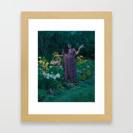9 of Pentacles Framed Art Print
