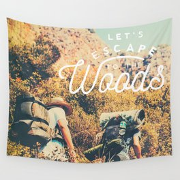 Let's Escape Wall Tapestry