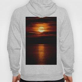 Sunset over the ocean Hoody