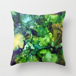 Rainforest Sky Throw Pillow