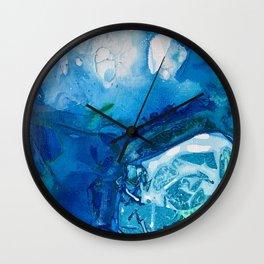Deep Blue Ocean Life Wall Clock