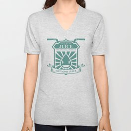 Juice Badge Unisex V-Neck