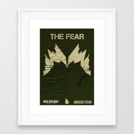 The Cobra Unit - The Fear Framed Art Print