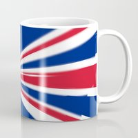 uk Mugs featuring UK Cooper by McGrathDesigns