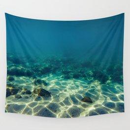 Underwater scene Wall Tapestry