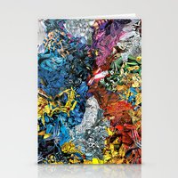 xmen Stationery Cards featuring The XMen by MelissaMoffatCollage