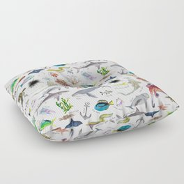 Under the Sea Alphabet Floor Pillow