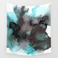 pool Wall Tapestries featuring Pool by Amie Amyotte