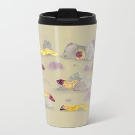 White-eyed Moray Eels Travel Mug