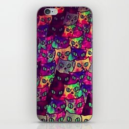 Cats  New colour No. 1 popularity 317 iPhone Skin