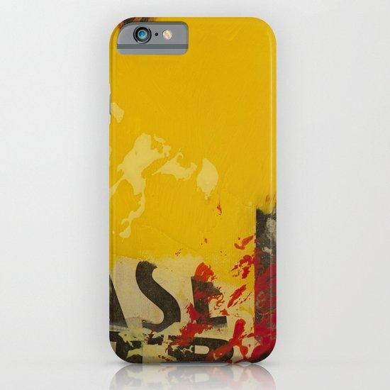 YELLOW3 iPhone & iPod Case