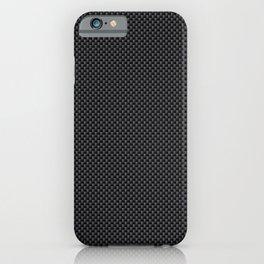 Simulated Black Carbon Fiber iPhone Case