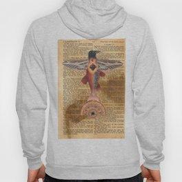 Sacred Heart Crow Hoody