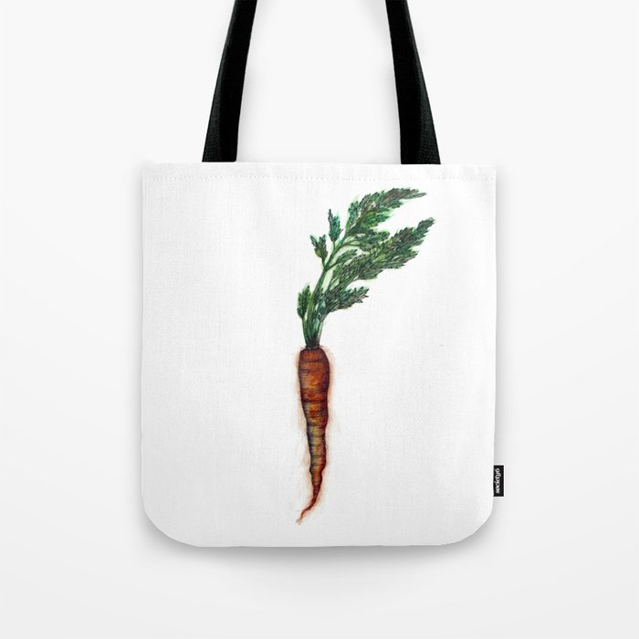 Rooted: The Carrot Tote Bag