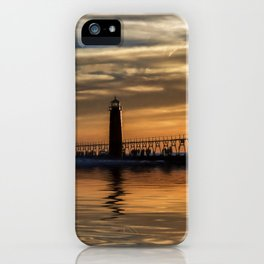 The Pier at Grand Haven iPhone Case