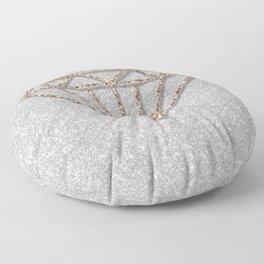 Glitter Diamond Floor Pillow