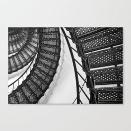 Hunting Lighthouse Stairs 1 Canvas Print