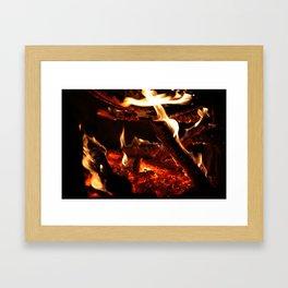 Fire1 Framed Art Print