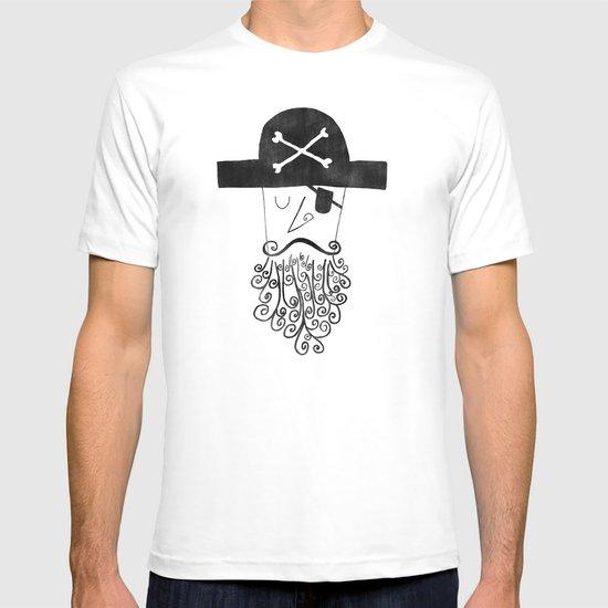 smug pirate T-shirt